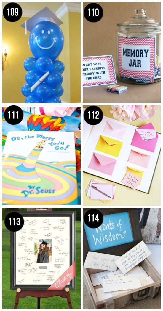 Grad Party Decoration Ideas