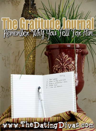 Gratitude Journal Activity for Couples