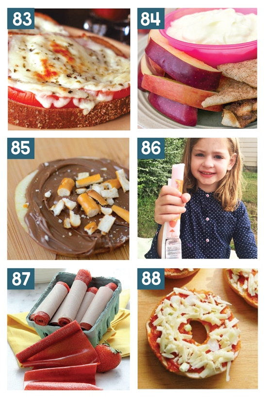 Great After School Snack Ideas