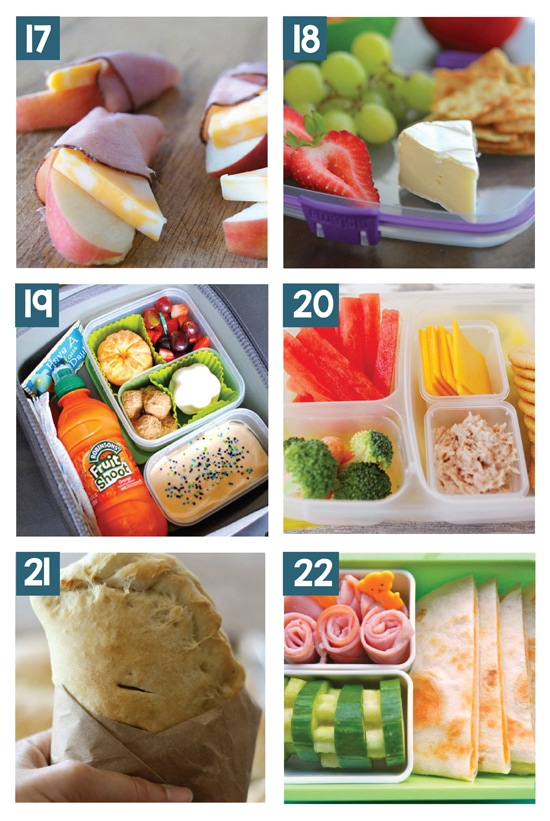 Great Non Sandwich School Lunch Ideas