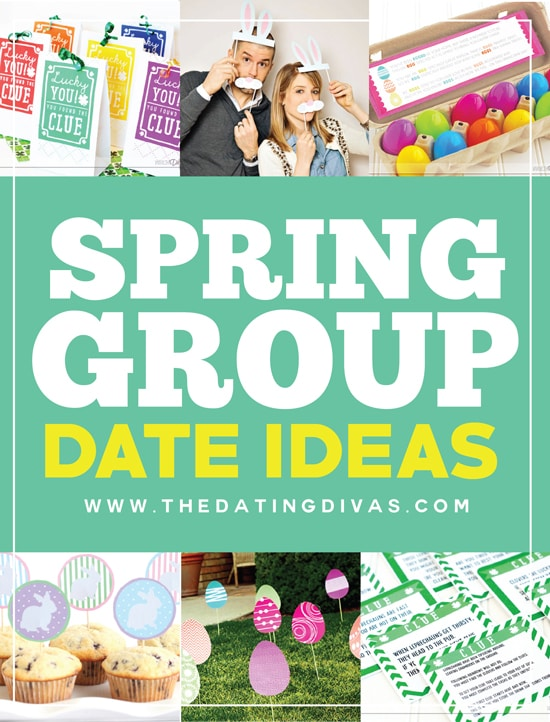Great Spring Group Date Ideas (FREE Printables Included)