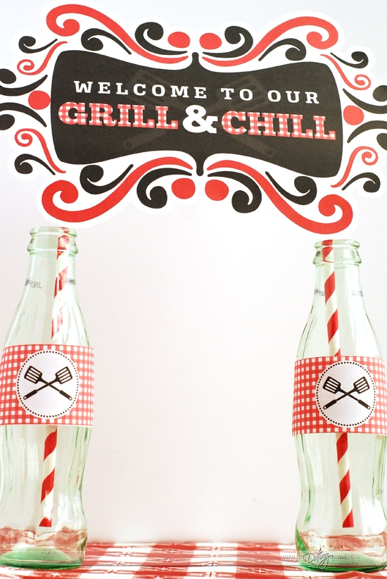 BBQ Date Night Decoration