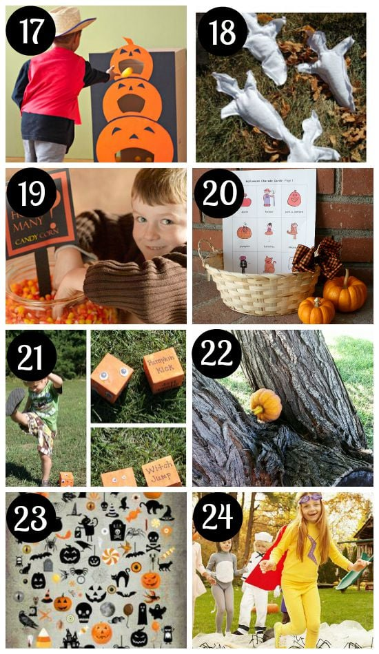 Halloween Games for Adults and Kids