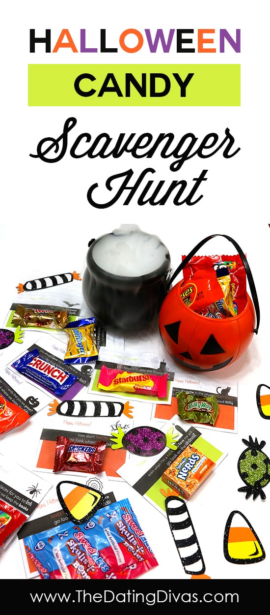 Halloween Candy Scavenger Hunt