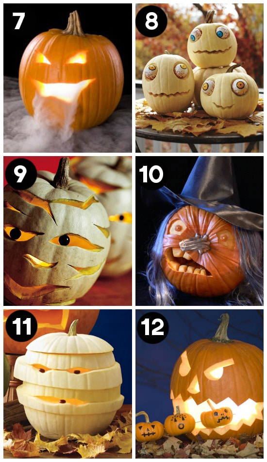 Halloween Carving Ideas