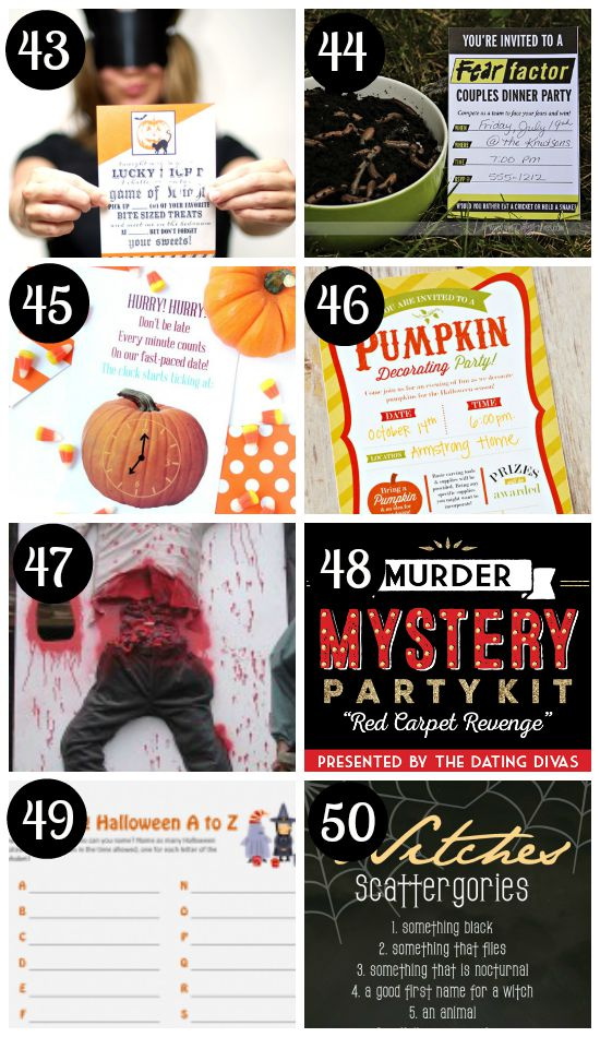 Lots of Fun Halloween Games for Adults