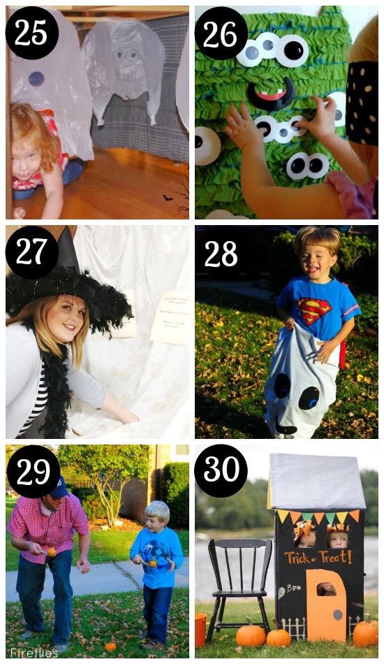 fun halloween games for kids and family