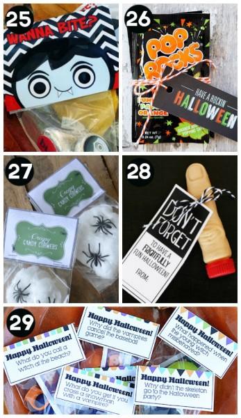 Halloween Gift Ideas for Classmates