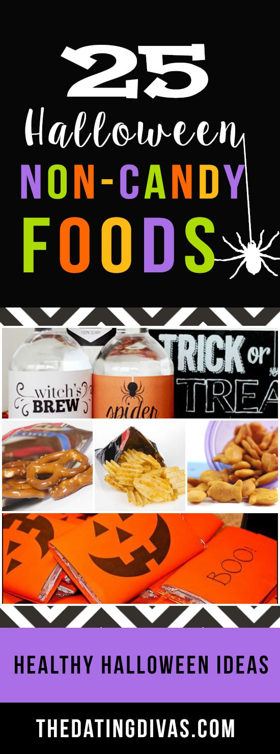 Non-candy Halloween treat options.