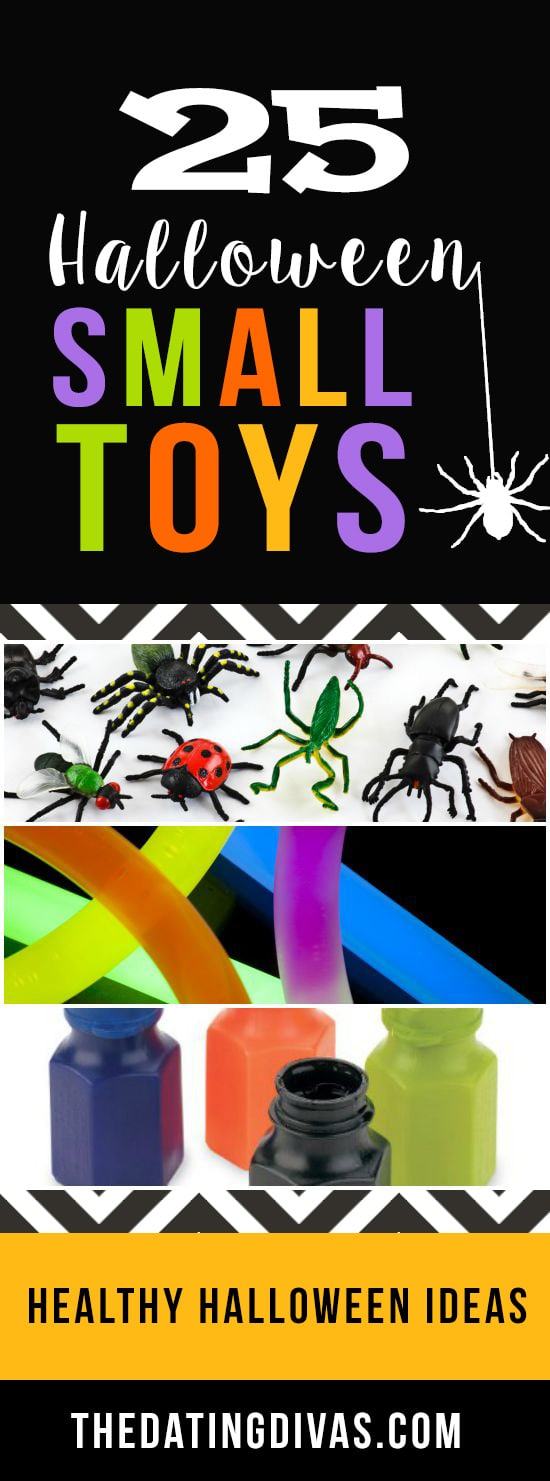 Small toys for Halloween treats.
