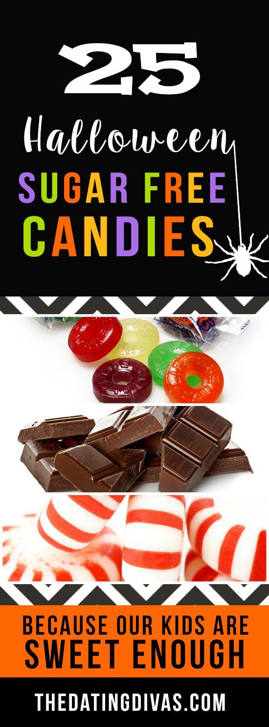 Sugar-free Halloween treat options.