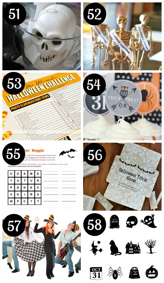 Halloween Party Activities for Adults