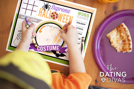 Halloween Party Placemat