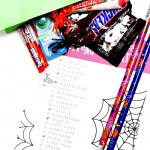 Halloween treat scavenger hunt