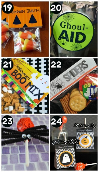 Halloween Snacks and Party Foods