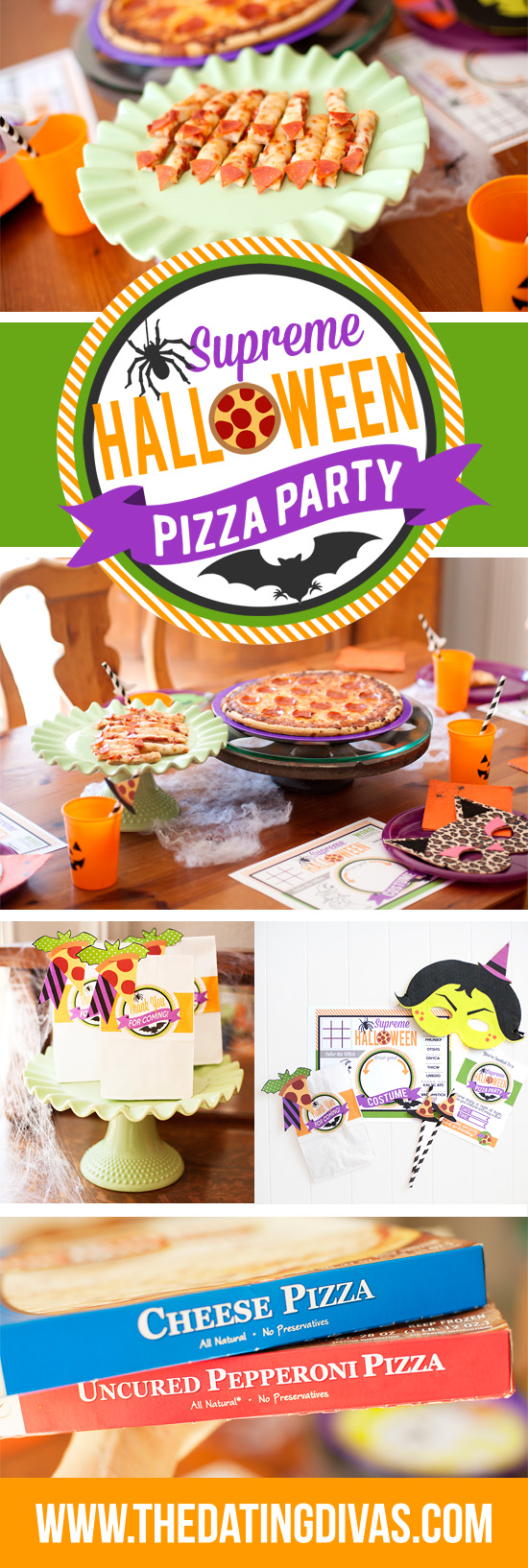 Halloween Pizza Party!