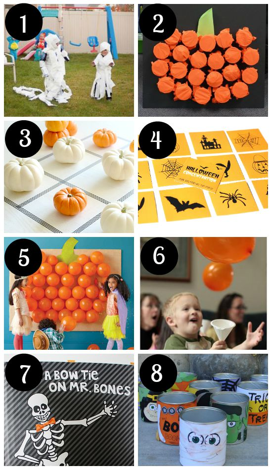 Halloween Party Games and Ideas for Kids