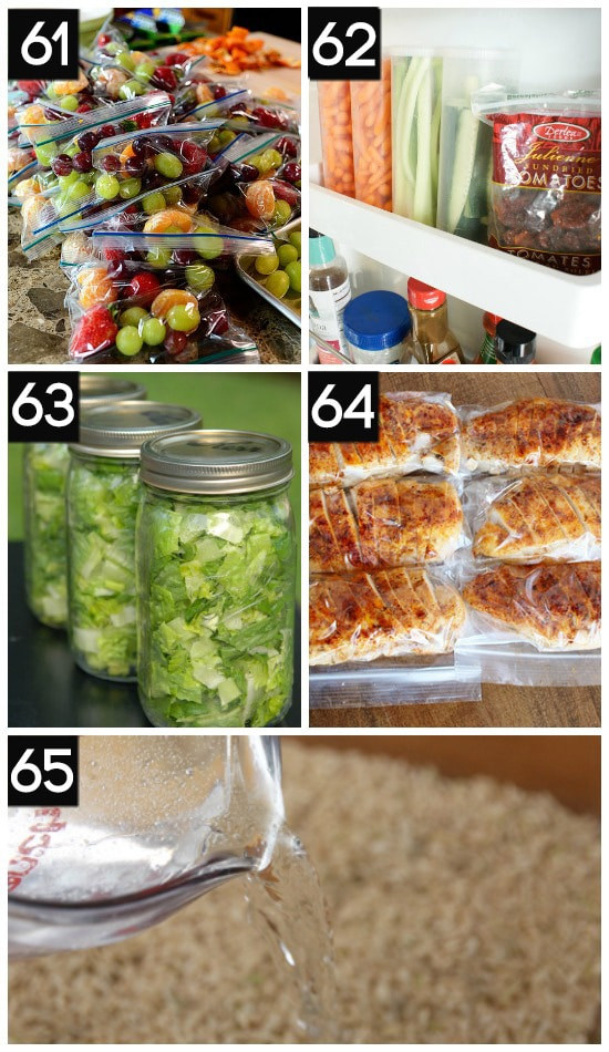 Healthy Food Prep Tips