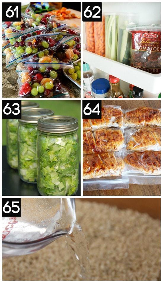Healthy Food Prep Tips