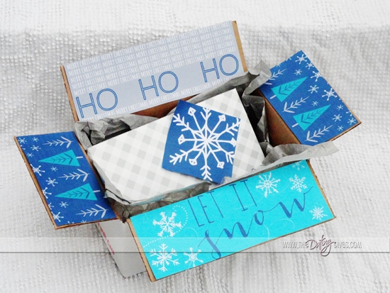 Ho Ho Ho and Let it Snow Christmas Care Package
