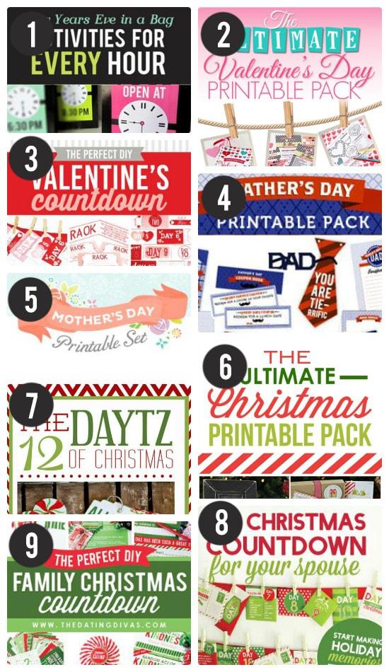 Twitter Giveaway Printable Packs