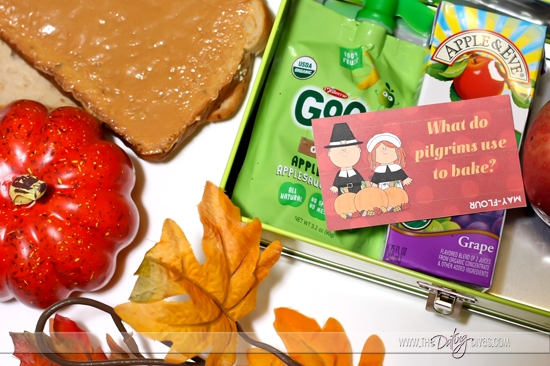 Thanksgiving Jokes and Free Printable Lunch Notes for Husband or Wife