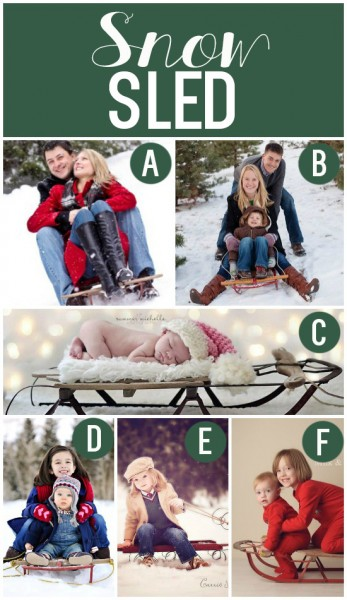 Holiday Photo Prop Ideas