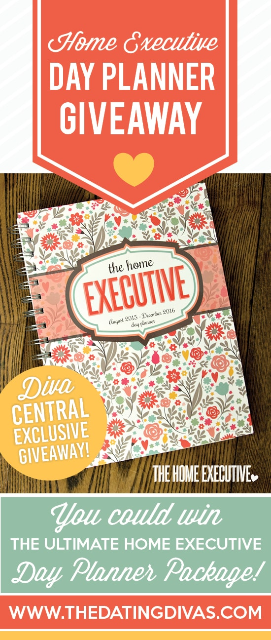 Home Executive Day Planner Giveaway