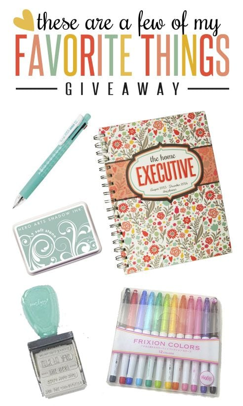 Home Planner Giveaway