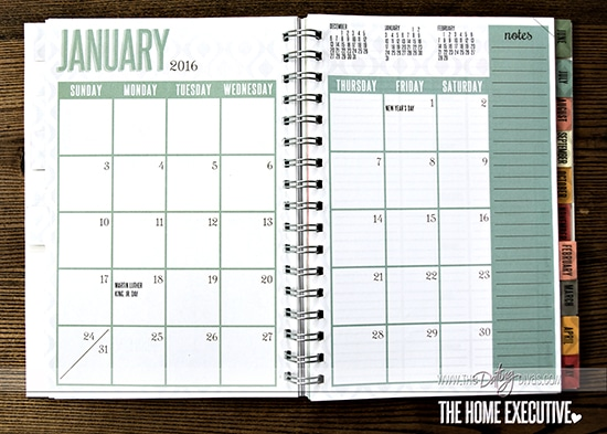 Home Planner Month