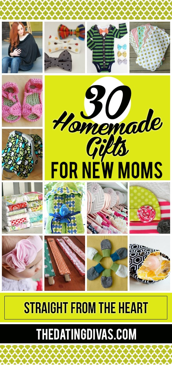 Homemade Gifts for New Moms
