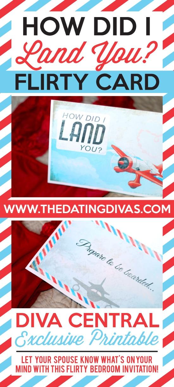 How Did I Land You - Flirty Card