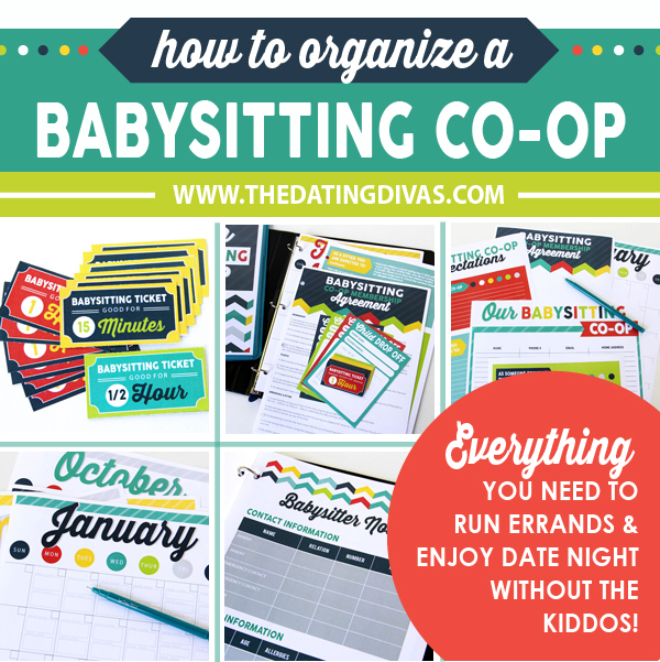 How To Organize A Babysitting Co-Op