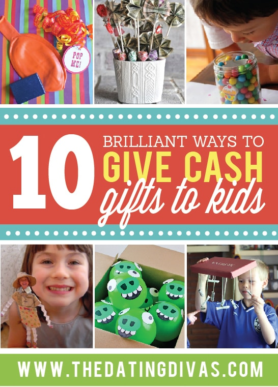 Kids Will Love These Creative Cash Gift Ideas