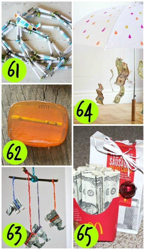 DIY Money Gift Ideas