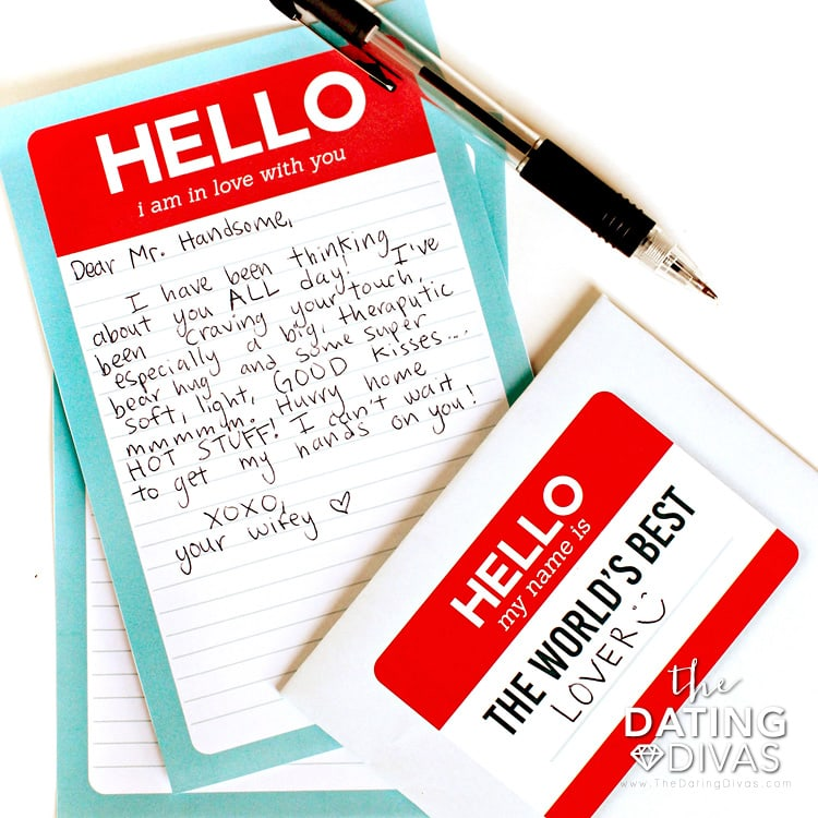 Mini Love Letter Stationery