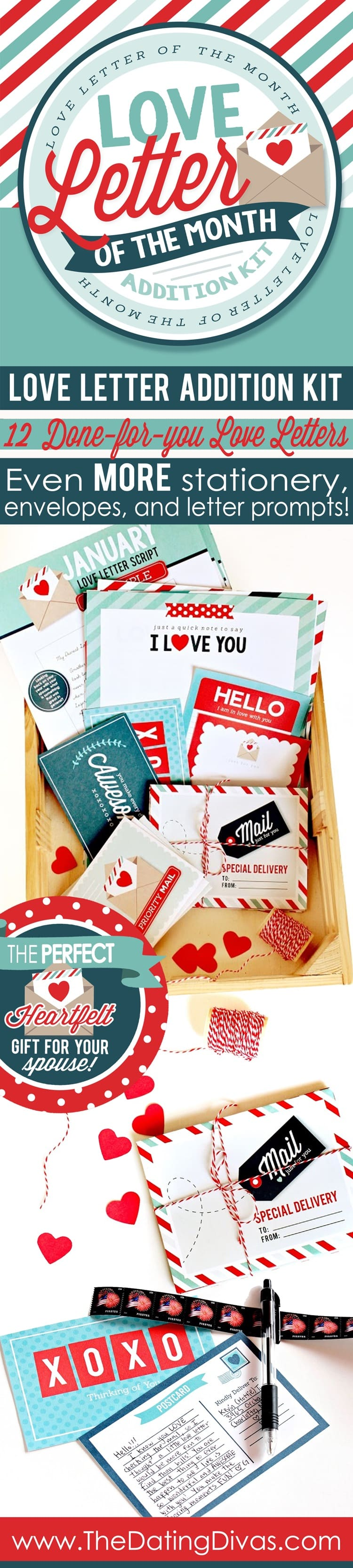 How to write the perfect love letter! Printable stationery, love letter scripts and more!