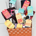 Husband Gift Basket with Printables