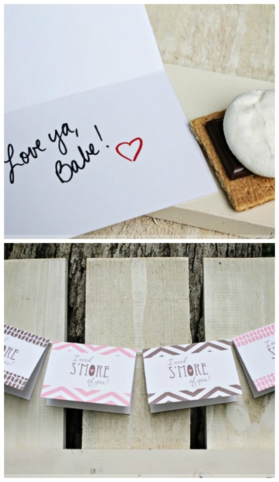 I Need Smore Of You Printable Love Note