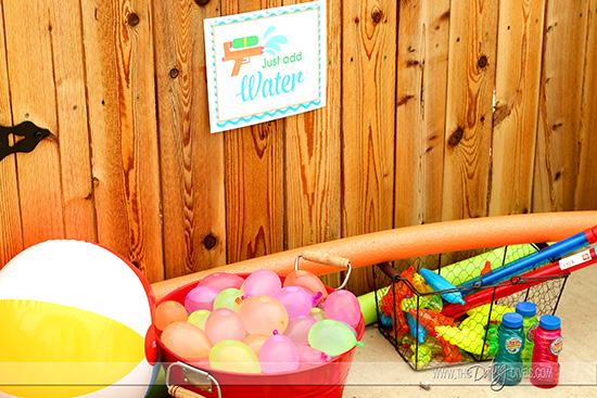 Water Party Games