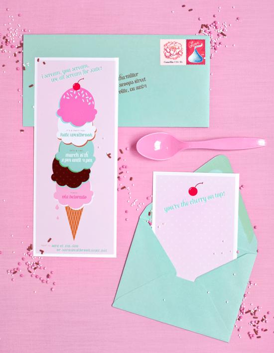 corie-ice cream party