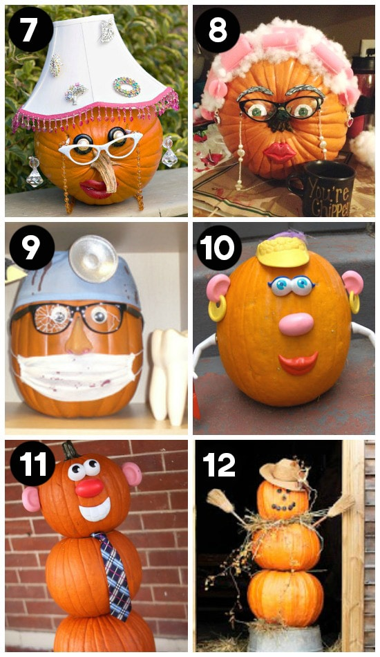 ideas for the pumpkin decorating contest