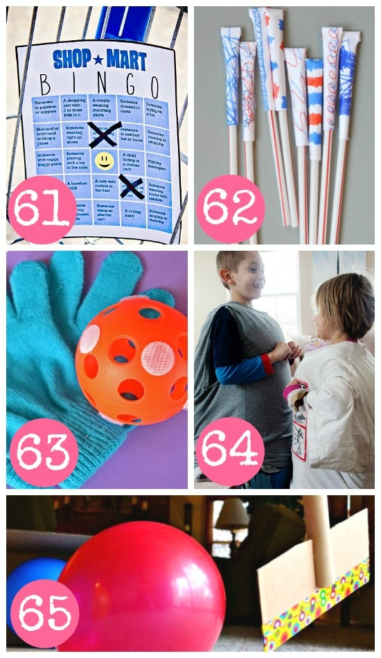 Active Indoor Games for the Whole Family