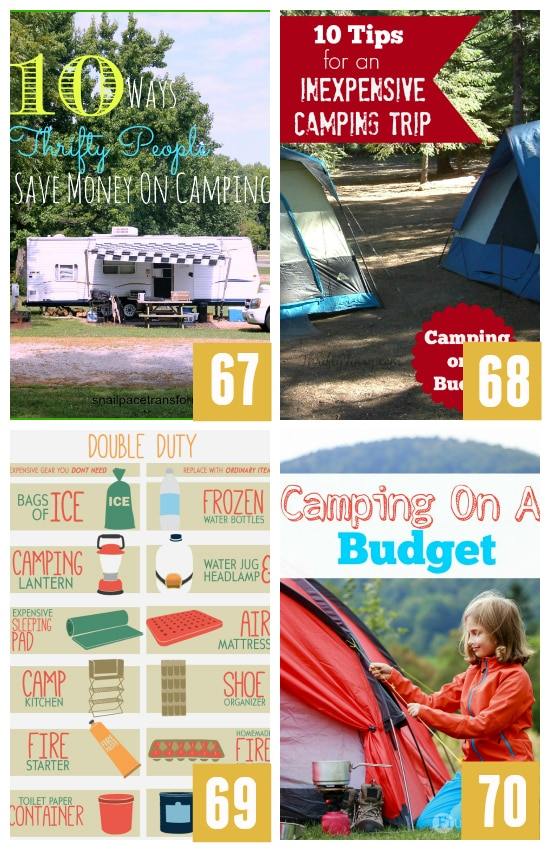 Camping on a Budget
