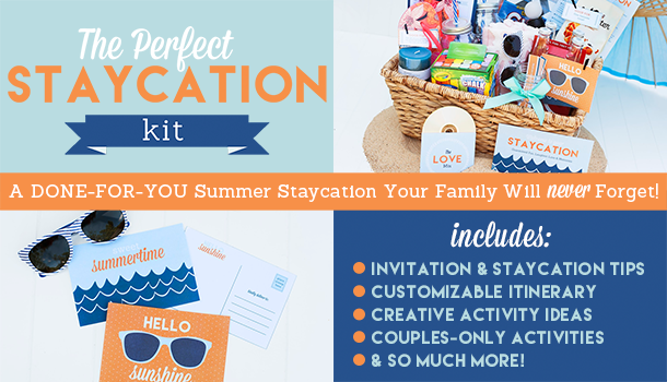 The Perfect Staycation Kit