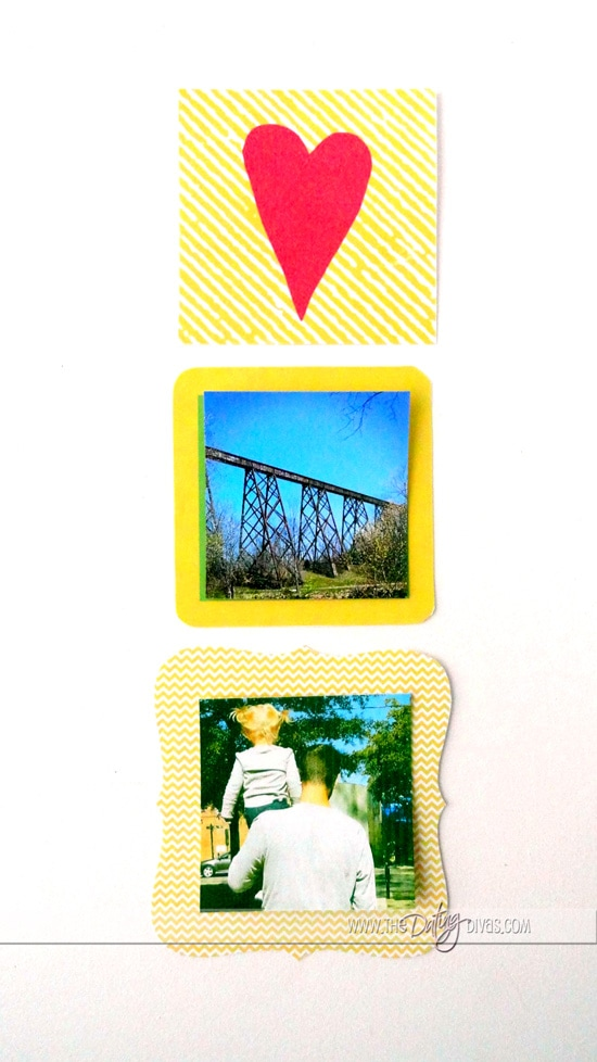 Printable Yellow Instagram Frames and Embellishment