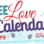 Free Printable January 2015 Love Calendar