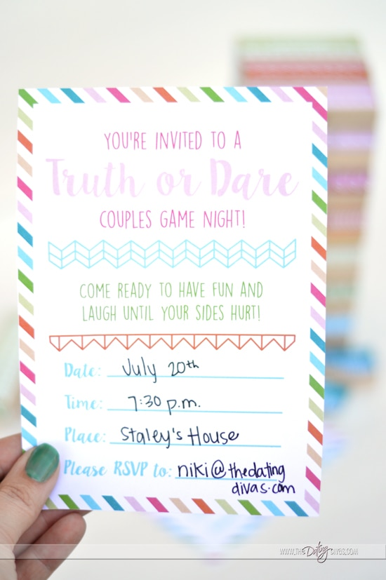 Invite all of your friends over for this amazing couples date night!