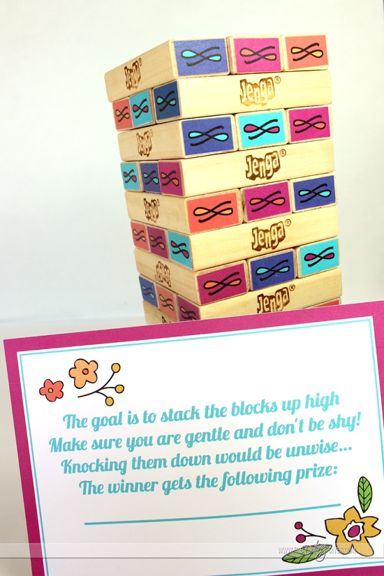 Jenga Love Game Tower