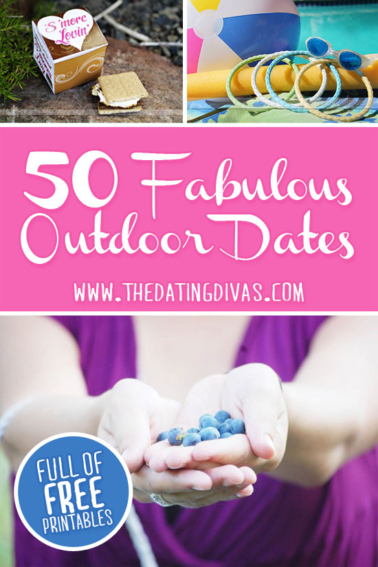 Dates That Will Get Your Outdoors!